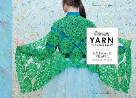 YARN The After Party 03 - Emerald Shawl