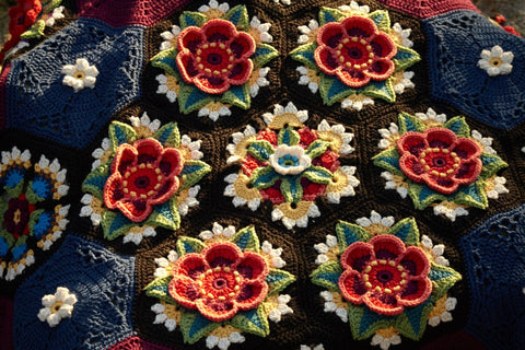 Stylecraft Frida's Flowers by Jane Crowfoot CAL Pack – Classique Cotton