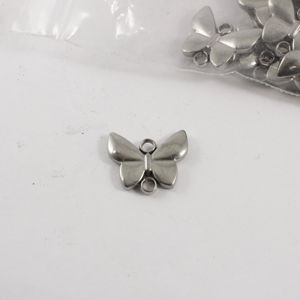 Stainless Steel Butterfly Connectors (Double Sided) - 20 pieces - Supply Destash