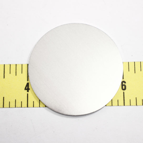 "2"" Ornament Disks - Aluminum - Supply Destash"