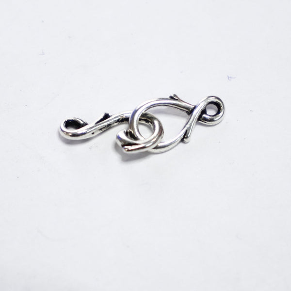 Pewter Vine Clasp - Set of 2 pieces - Supply Destash