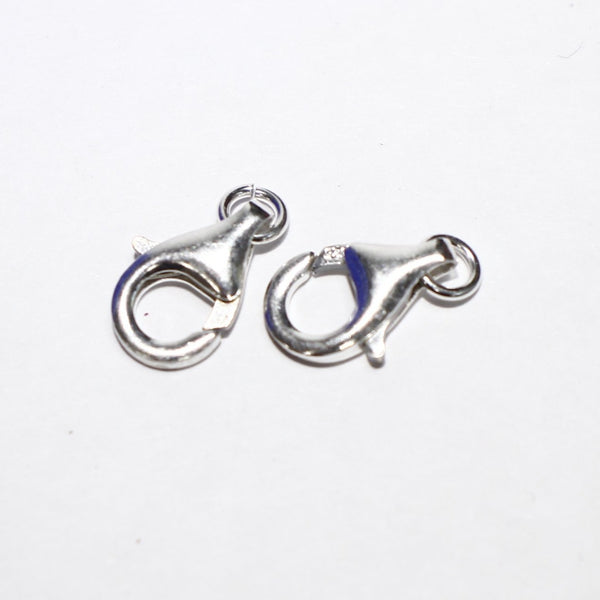 Sterling Silver Lobster Clasp, 7 by 13mm- Supply Destash