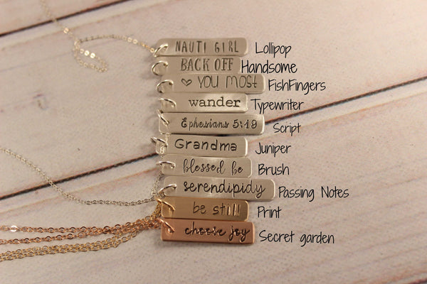 "Add On - 1/4"" charm - Sterling Silver, Gold Filled or Rose Gold Filled - Add Ons - Completely Hammered - Completely Wired"