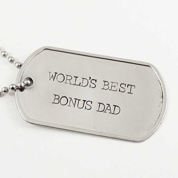 Personalized, Dog Tag Necklace / keychain