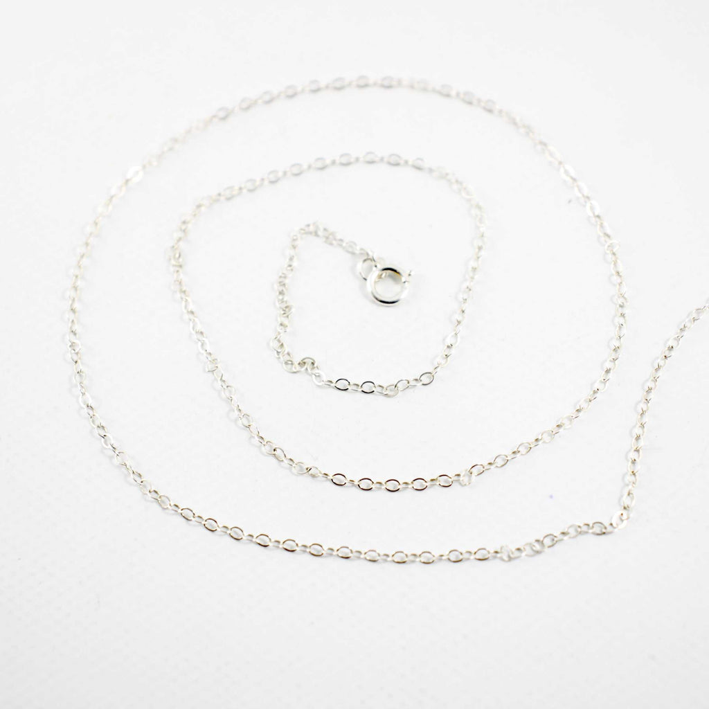 Add a Sterling Silver Chain - Chain - Completely Hammered - Completely Wired