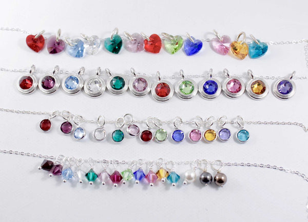 Swarovski Crystal Charm Add-On - Add Ons - Completely Hammered - Completely Wired