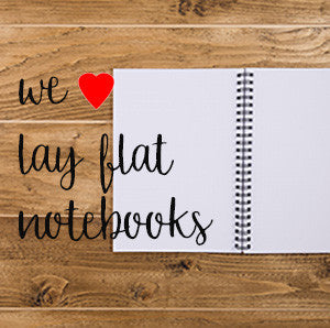lay flat notebooks