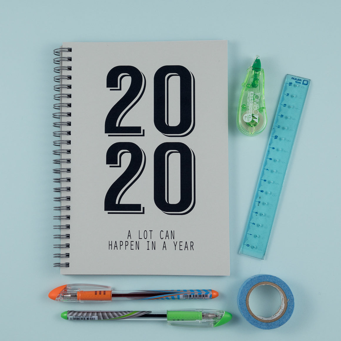 2020 personalised journal