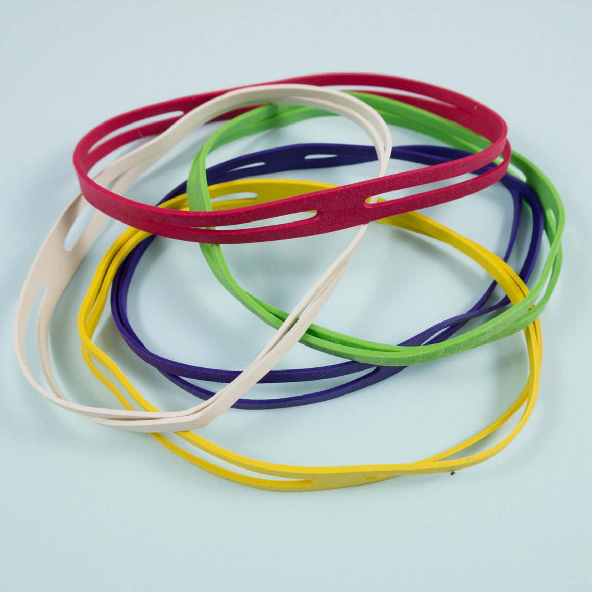 selection of  4 way rubber bands