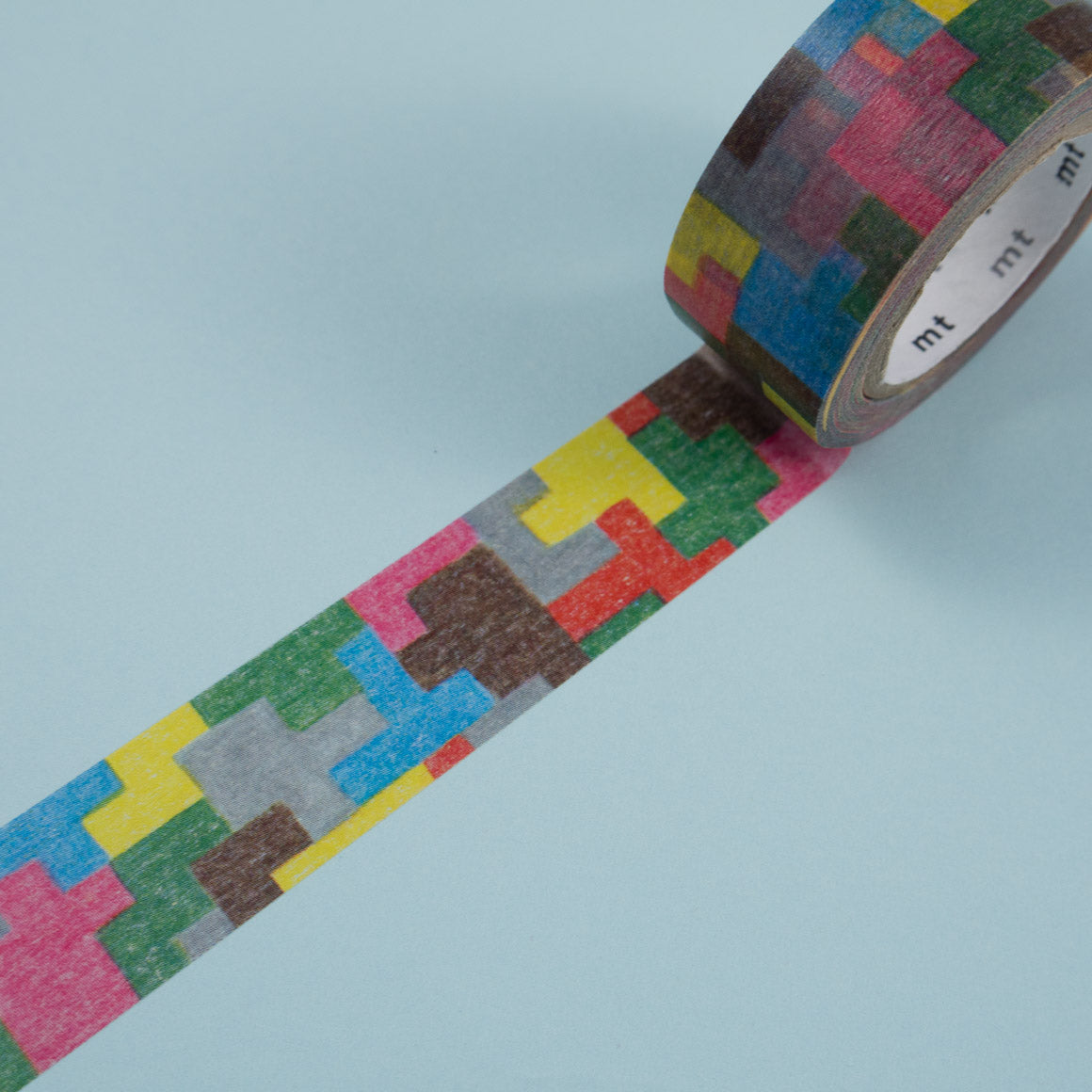 Mina Perhonen Puzzle MT Washi Tape