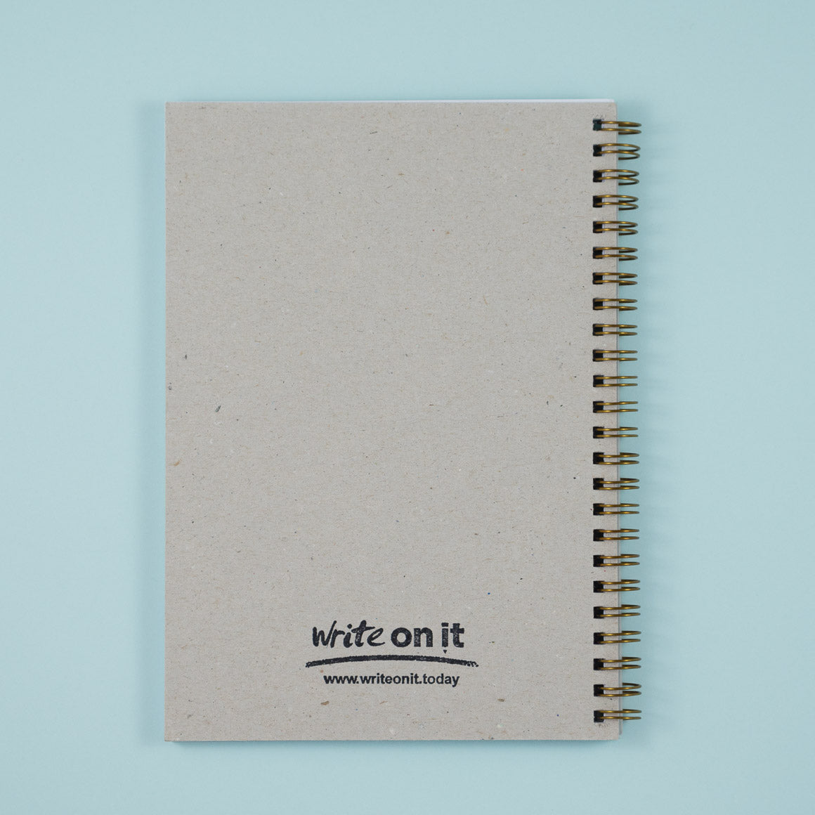notebook back cover