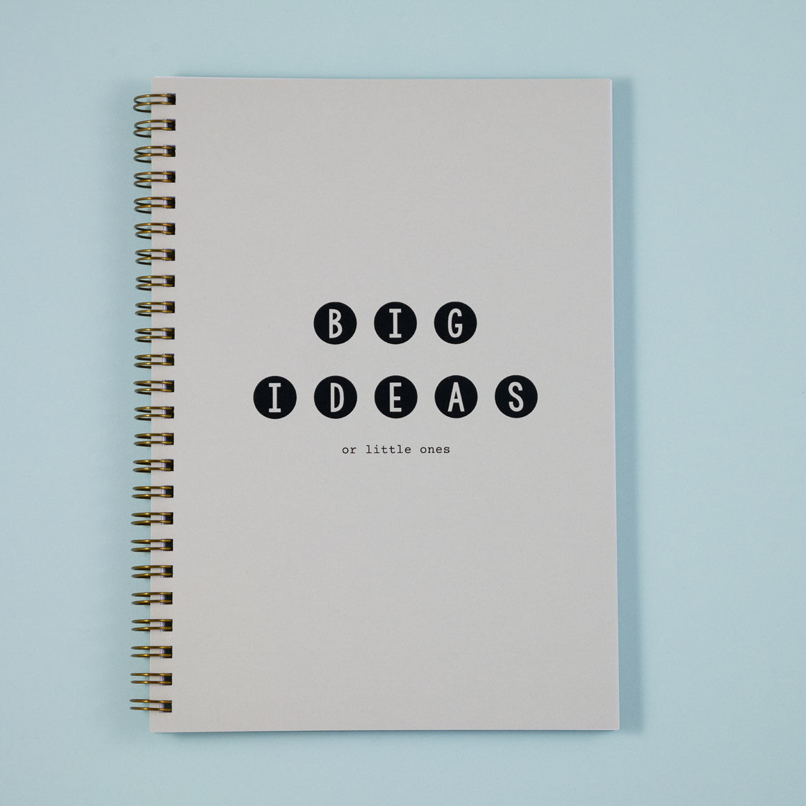 big ideas A5 notebook