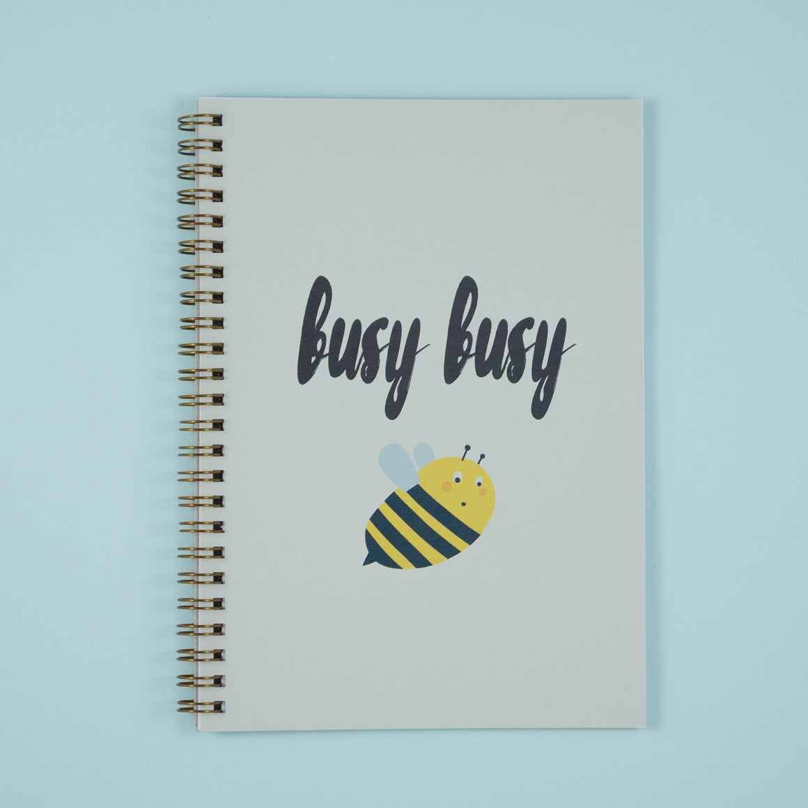 Busy Busy Bee A5 Notebook