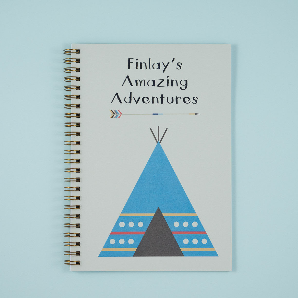 childrens adventures personalised notebooks