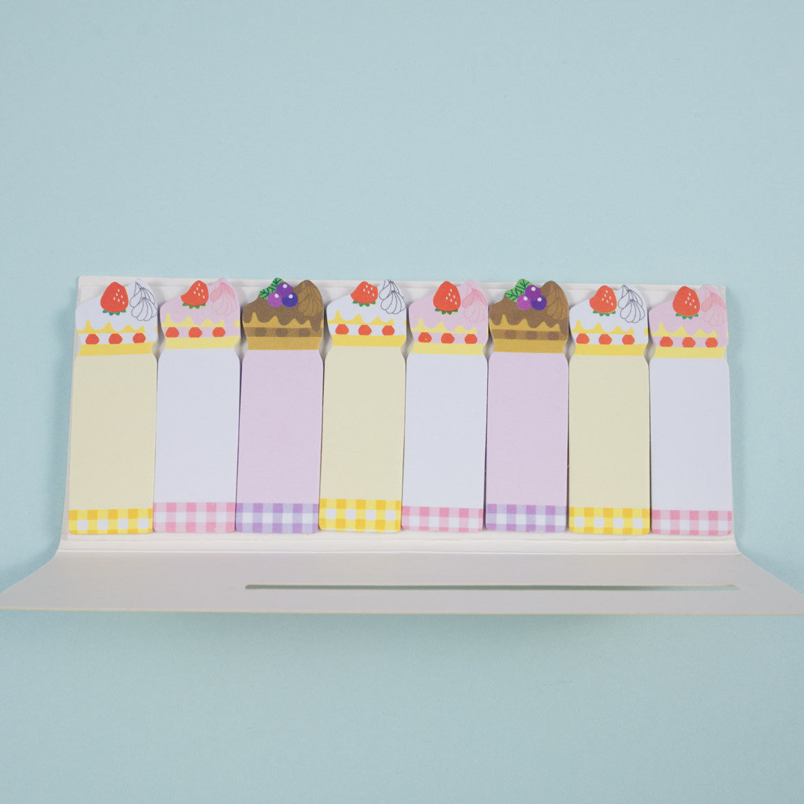 cakes sticky note markers