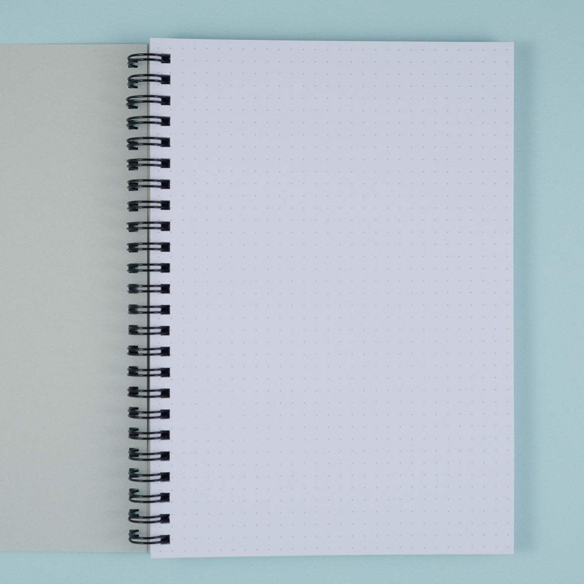 dotted paper notebook A5