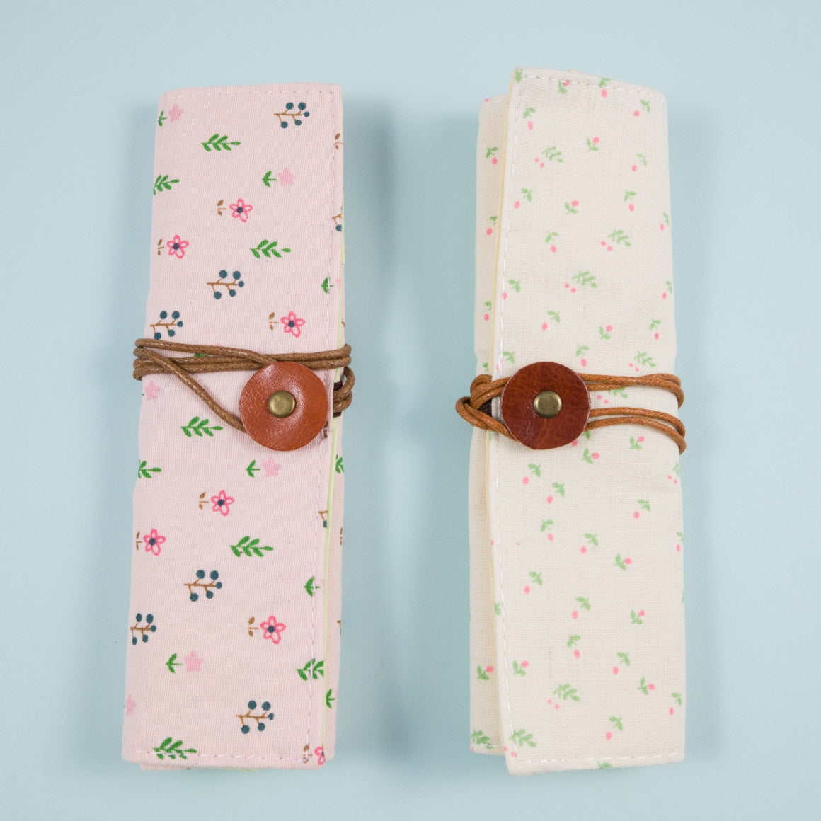 Floral Fold Out Pencil Case