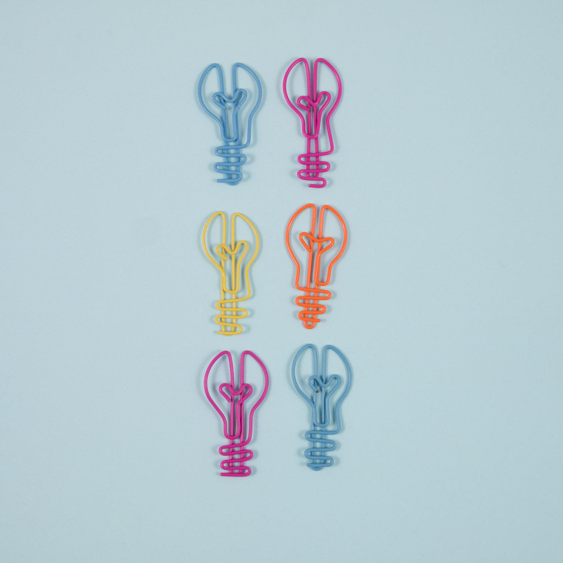lightbulb shaped paperclip