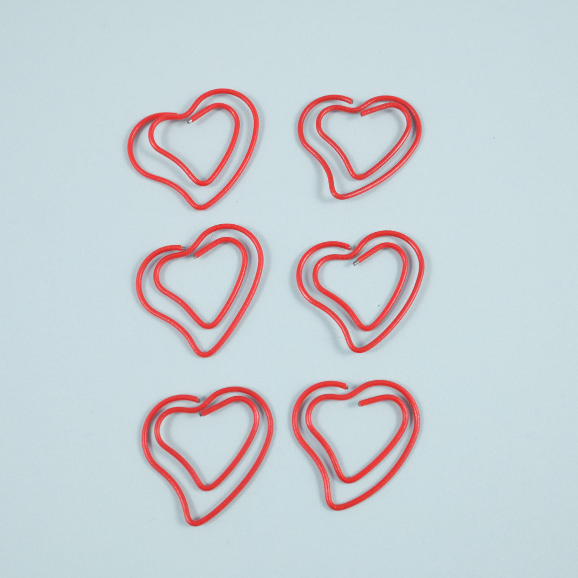 Red Love Heart Paper Clip