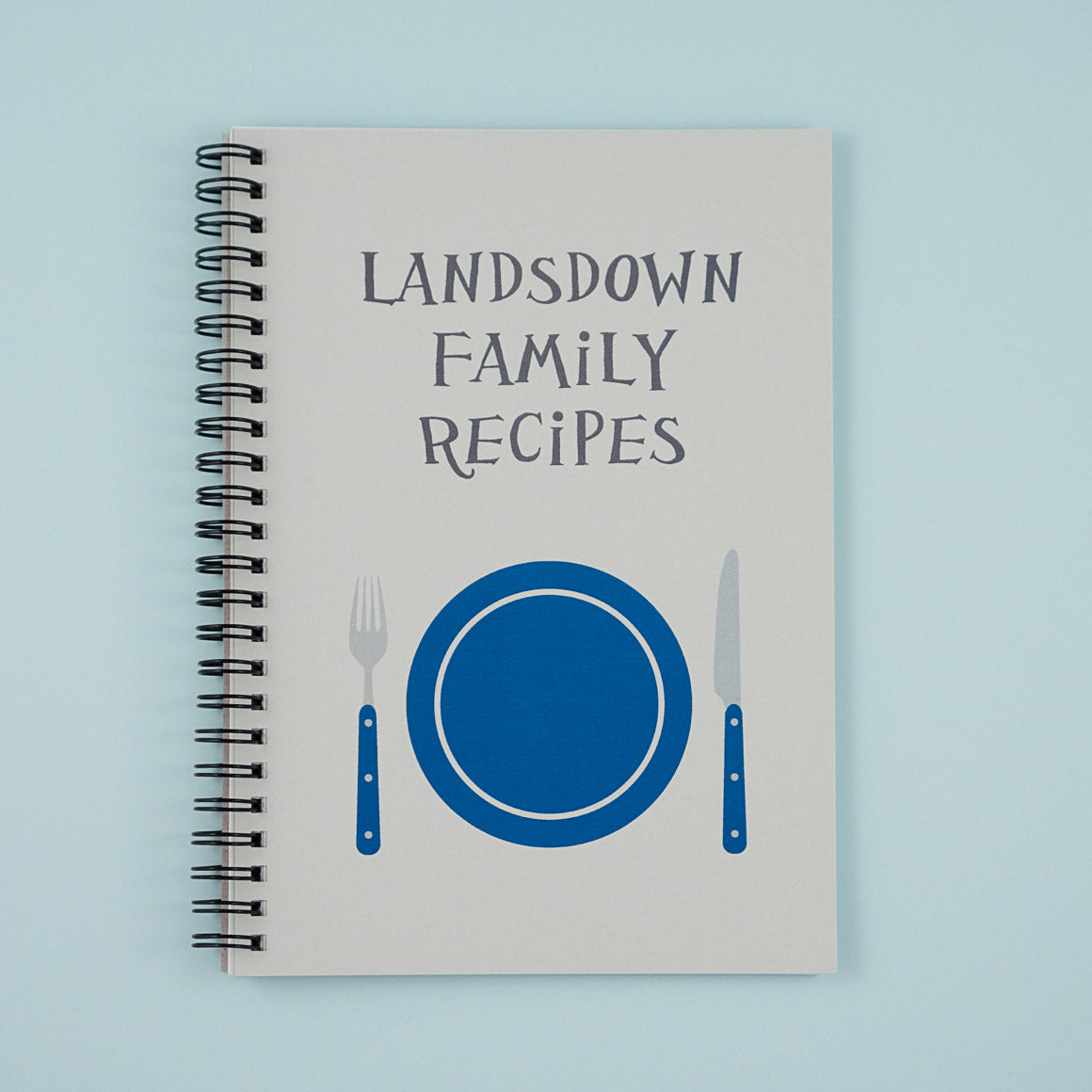 Family Recipes Personalised Cook Book