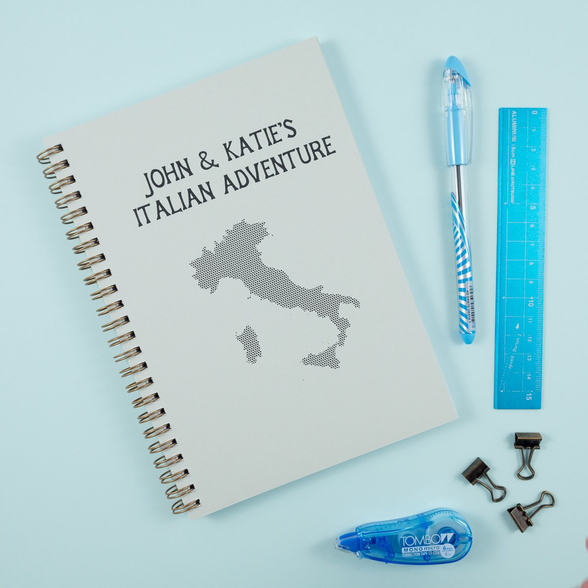 Italy Personalised Travel Journal