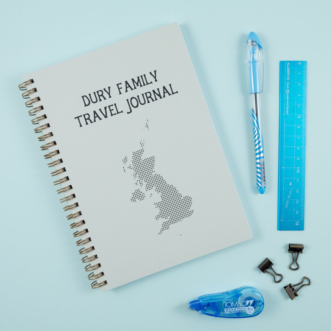 Great Britain Personalised Travel Journal