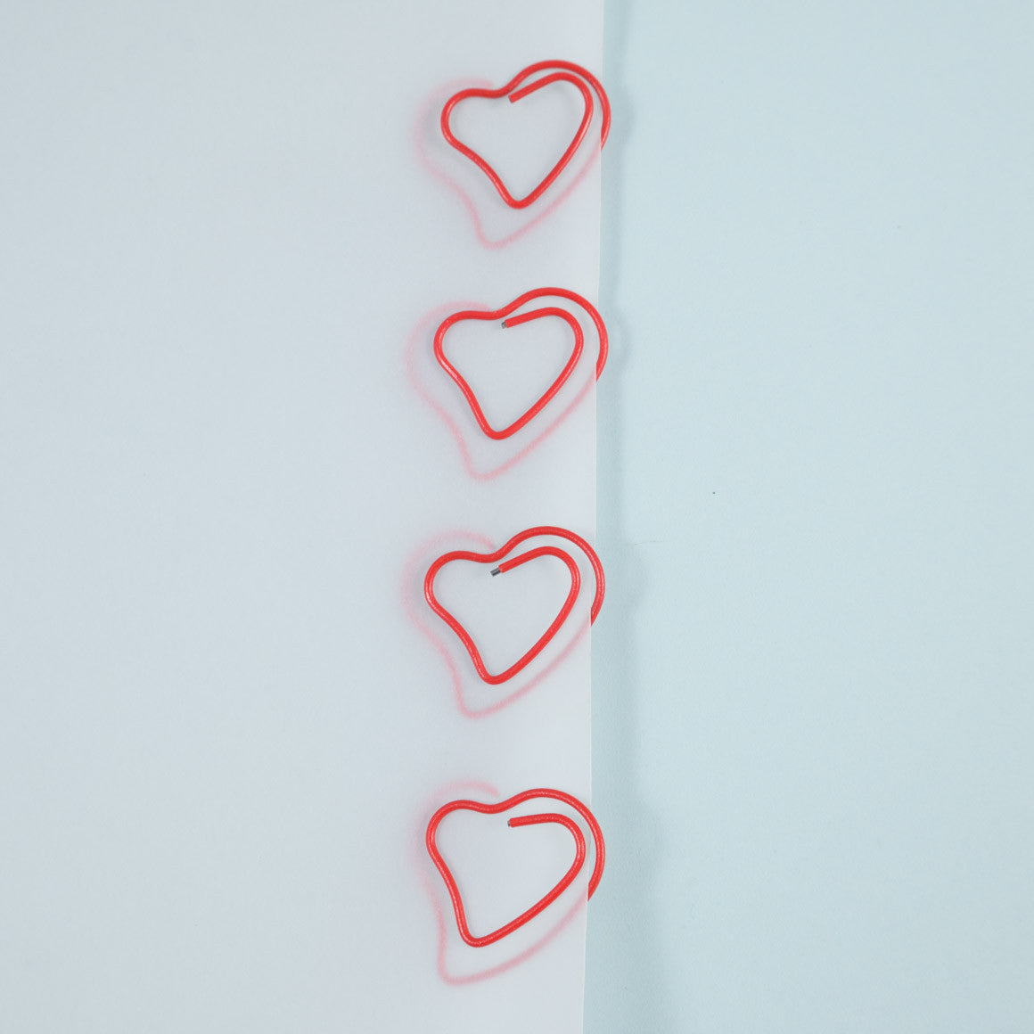 heart shaped paperclip