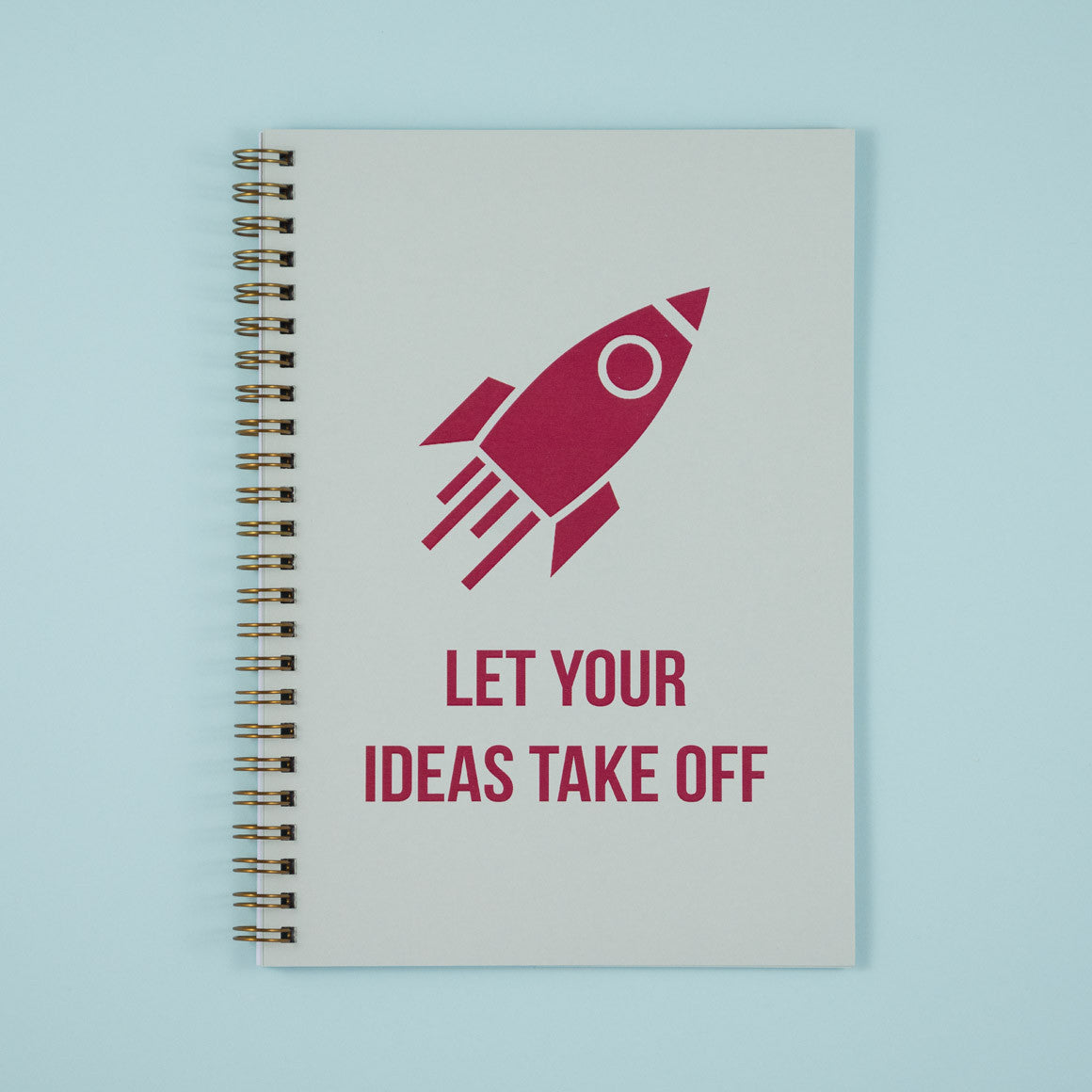 rocket let your ideas take off notebook