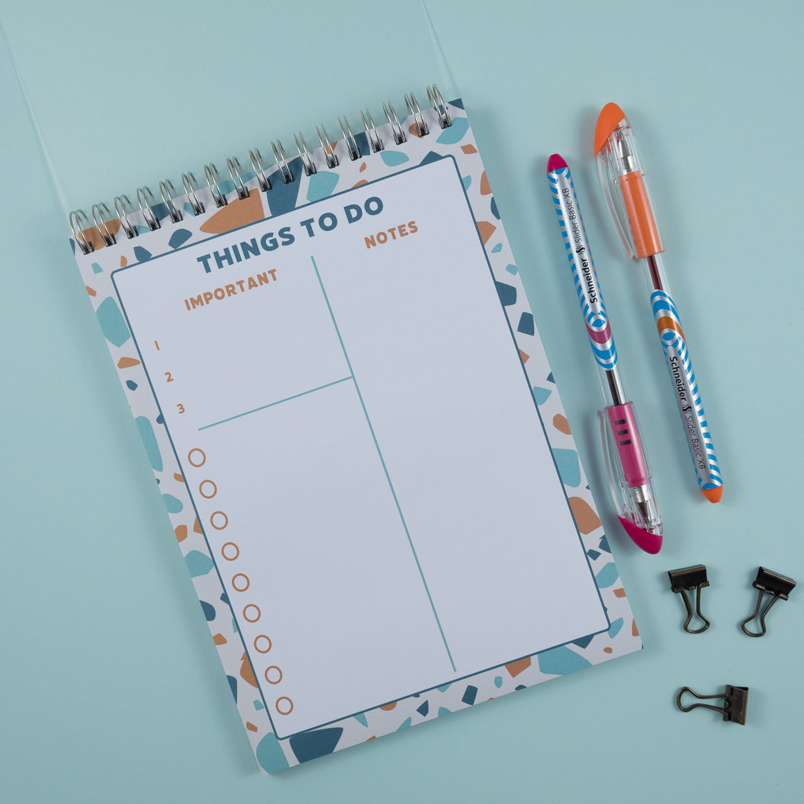Things To Do Planner Notebook