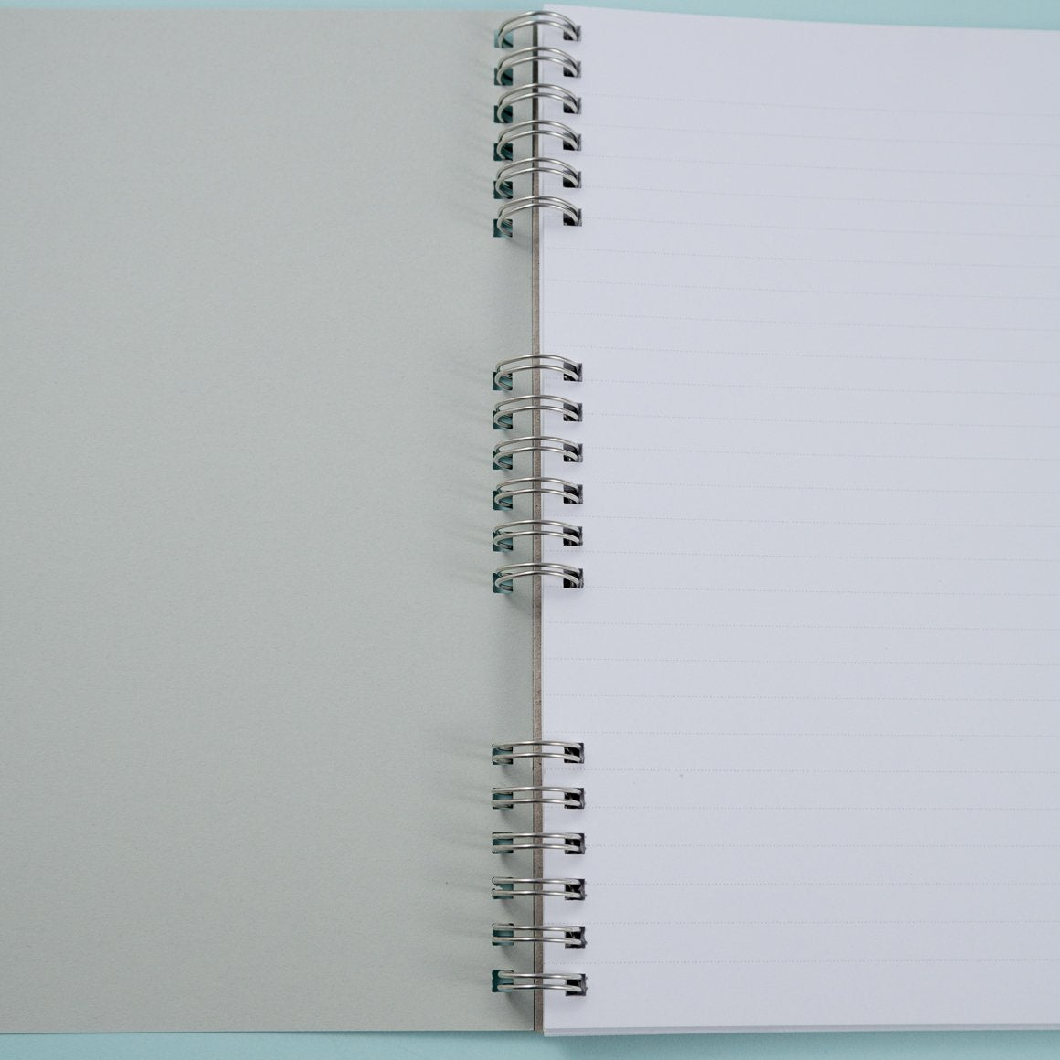 inside A5 personalised notebook