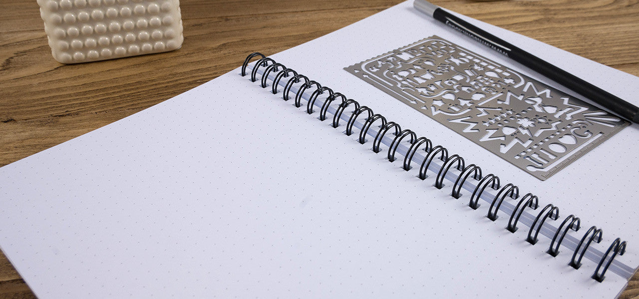 Dot Grid Paper Notebooks