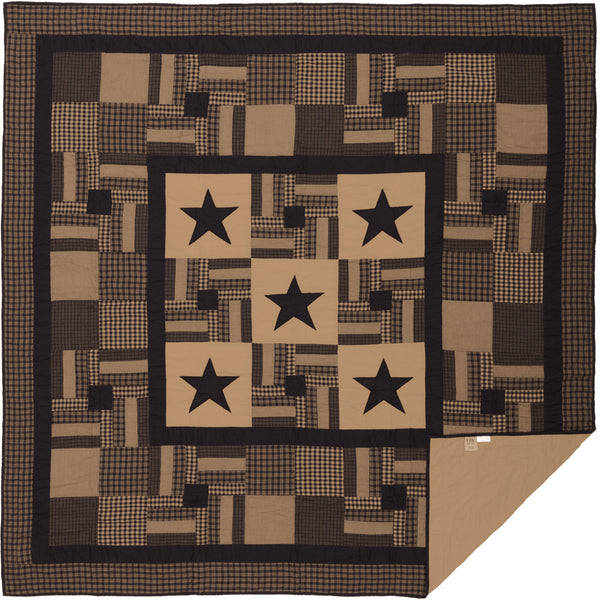 Black Check Star Quilt Bundles