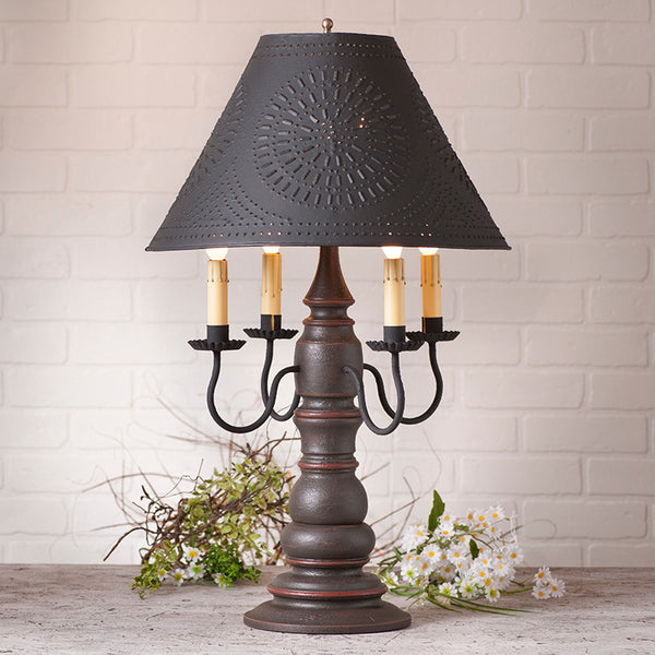Bradford Table Lamp w/Shade - 5 Colors to choose from