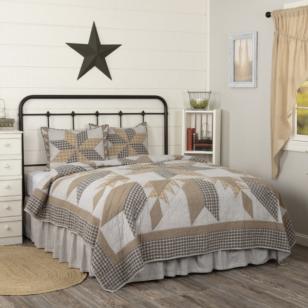 Dakota Star Farmhouse Blue Quilts & Accessories - NEW COMING SOON!