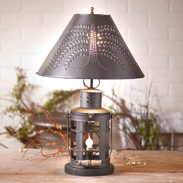 Innkeeper's Table Lamp with Shade