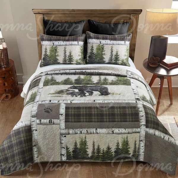 Bear Panels Quilts & Accessories