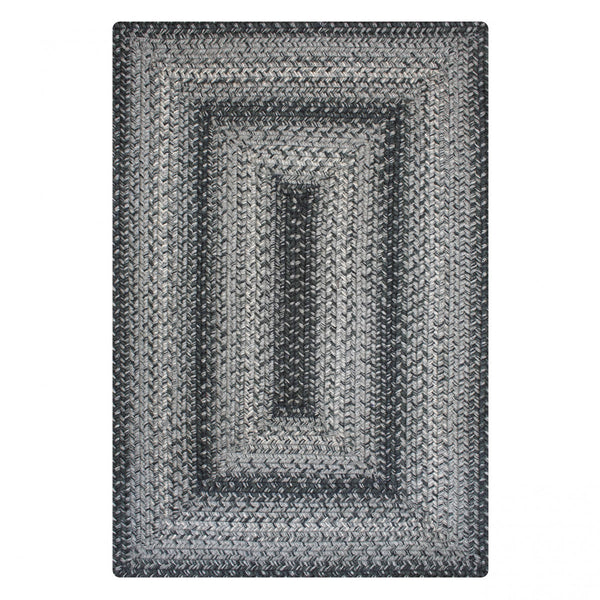 FLINT GREY: Braided Jute Rug - Homespice