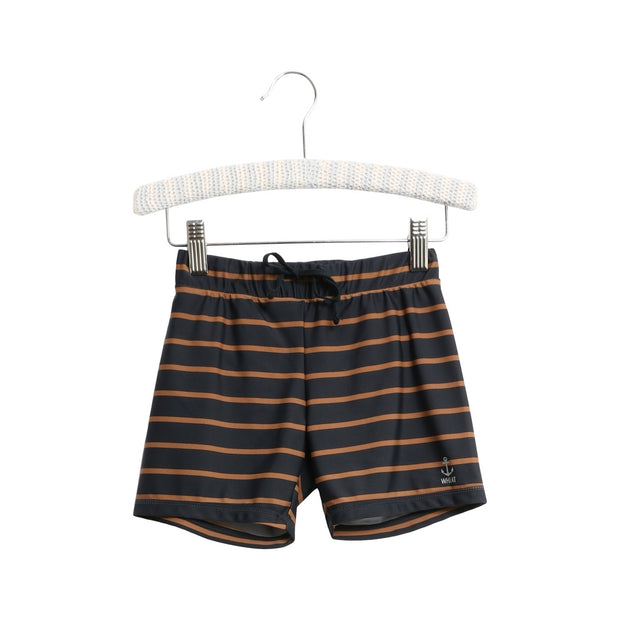 Wheat Badeshorts Eli Swimwear 1397 midnight blue stripe