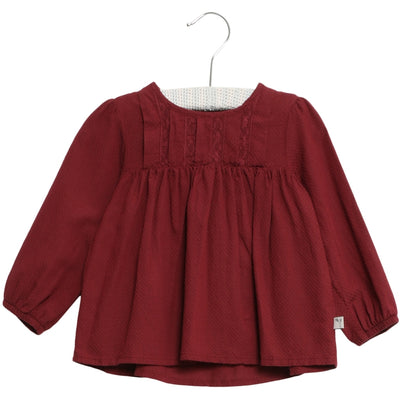 Wheat Bluse Elsa Shirts and Blouses 2105 burgundy