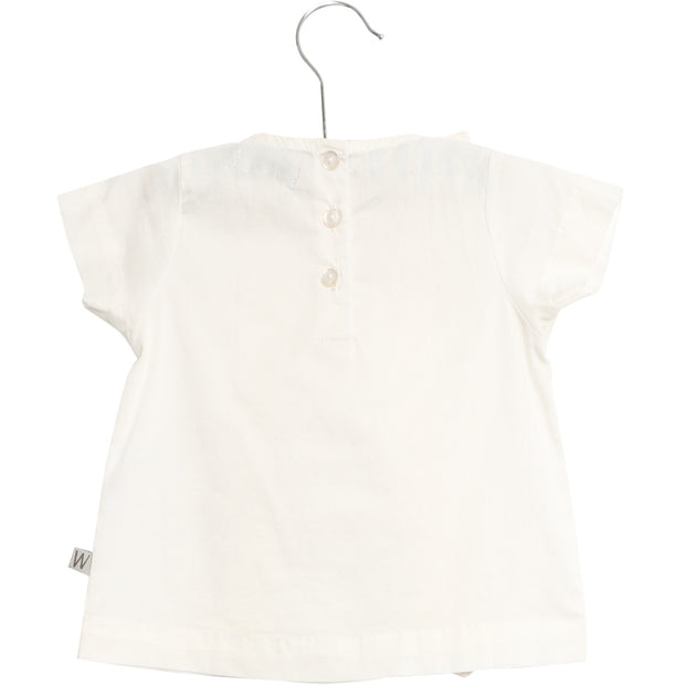 Wheat Bluse Nicoline Shirts and Blouses 0364 white