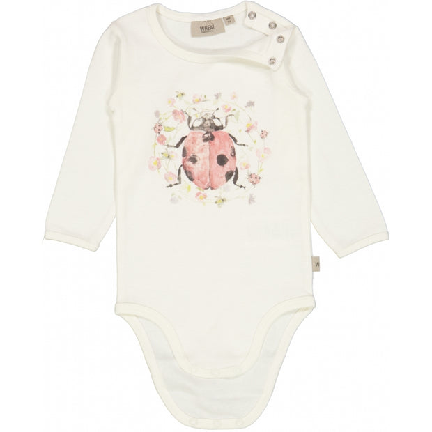 Wheat Body Ladybug LS Underwear/Bodies 3182 ivory