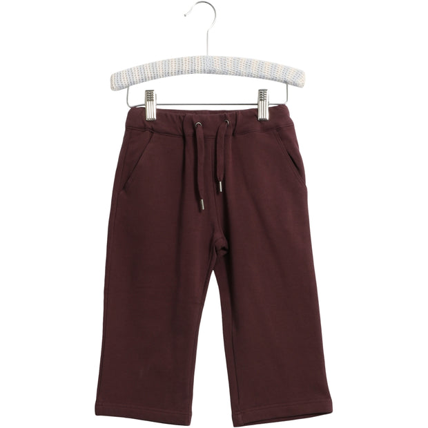 Wheat Gestutzte Hose Sole Trousers 3374 soft eggplant