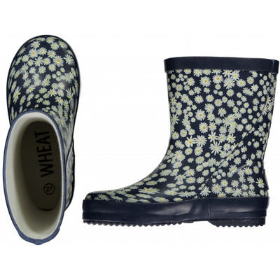 Wheat Outerwear Gummistiefel Alpha Rainwear 1063 ink flowers