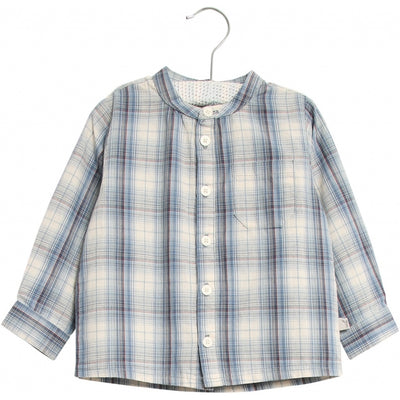 Wheat Hemd Tasche LS Shirts and Blouses 1043 blue