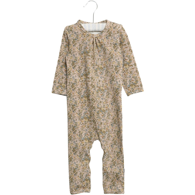 Wheat Jumpsuit Gatherings Jumpsuits 3154 fawn flowers
