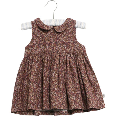 Wheat Kleid Eila Dresses 3379 soft eggplant flowers