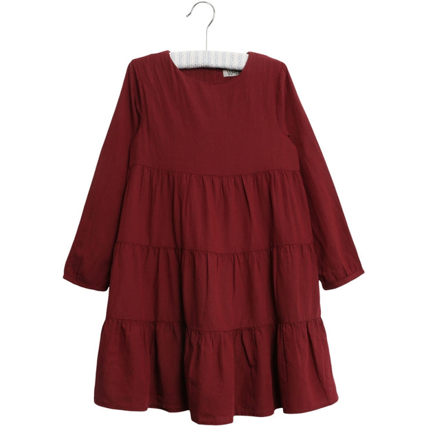 Wheat Kleid Fanny Dresses 2105 burgundy