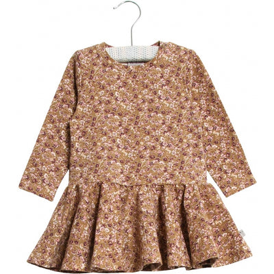 Wheat Kleid Kristine Dresses 5070 caramel flowers