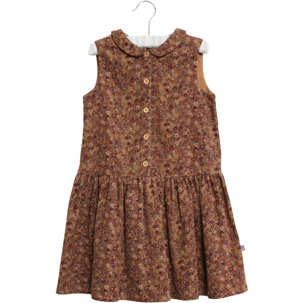 Wheat Kleid Penny Dresses 5070 caramel flowers