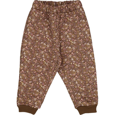 Wheat Outerwear Limited Edition Thermo Pants Alex Thermo 9074 nutella flowers